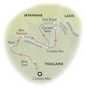 Thailand Map